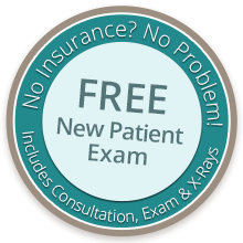 Free new patient exam special coupon