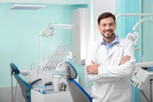 family dentist in operatory